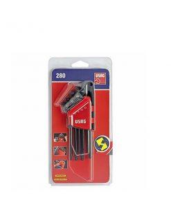 280_LTSTX-S8_ USAG_serie chiavi maschio lunga testa sferica