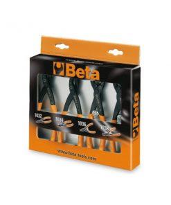 BETA 1031/S4 Serie di 4 pinze per anelli elastici di sicurezza
