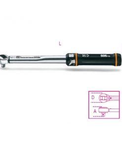 Beta 606 Chiavi dinamometriche a scatto con cricchetto reversibile per serraggi destrorsi precisione di serraggio ± 4%
