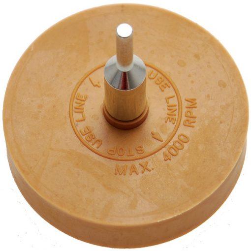 FERMEC 3999 Disco cancellatore in gomma per lamiera