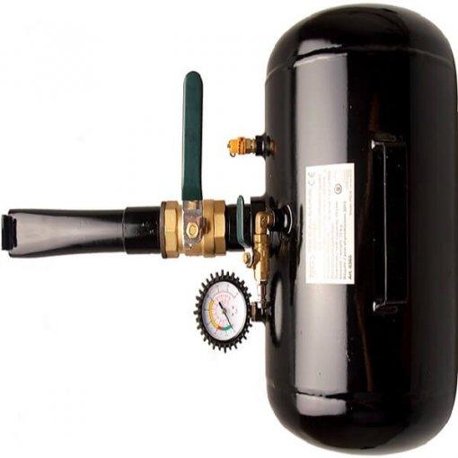 FERMEC BGS 8365 Compressore di ausilio carica pneumatici automobili, booster