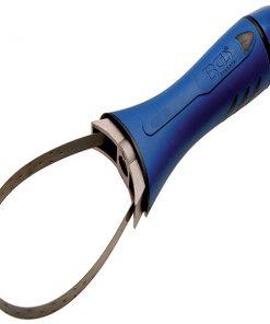FERMEC BGS 8537 Chiave per filtri olio a fascia, con impugnatura in materiale plastico, 65 - 105 mm