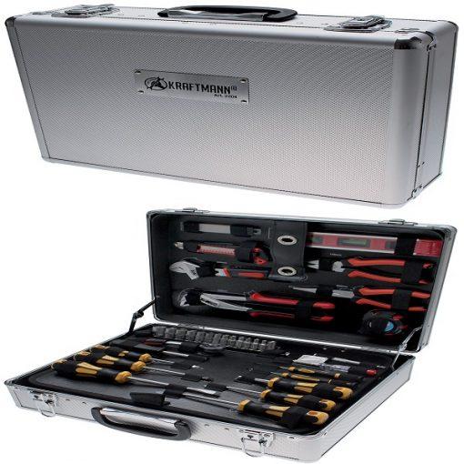 FERMEC BGS 2204 Cassetta in alluminio con 129 utensili